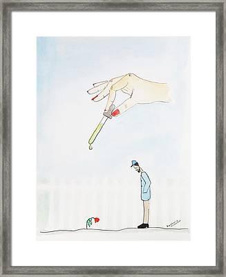 Hope Framed Print by Keshava Shukla