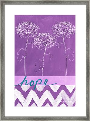 Hope Framed Print by Linda Woods