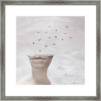Hope Springs Eternal Framed Print by Jacky Gerritsen