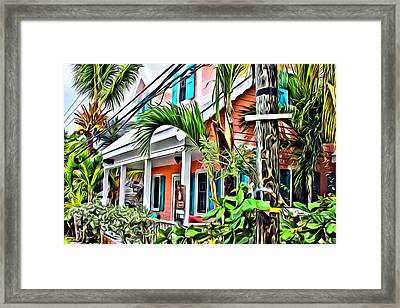 Hope Town Home Framed Print by Anthony C Chen