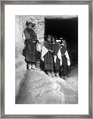 Hopi Maidens, 1906 Framed Print by Granger