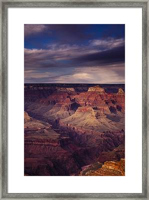 Hopi Point - Grand Canyon Framed Print by Andrew Soundarajan