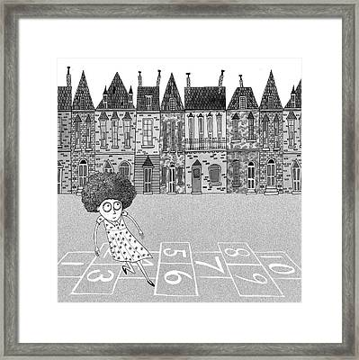 Hopscotch  Framed Print by Andrew Hitchen