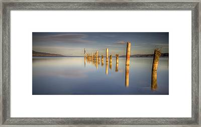Horizon Framed Print by Philippe Saire - Photography