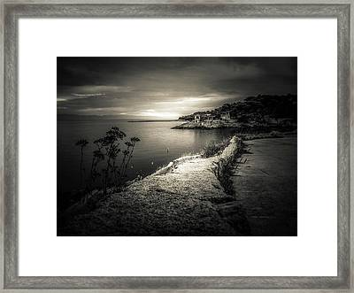 Horizon Framed Print by Silvijo Selman