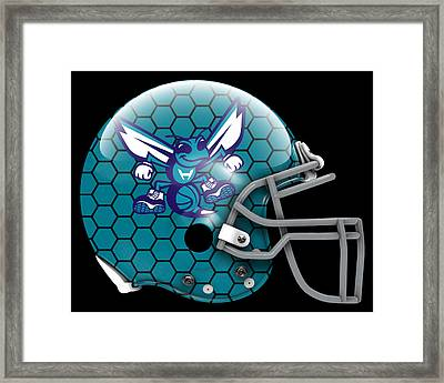 Hornets What If Its Football Framed Print by Joe Hamilton
