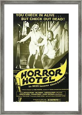 Horror Hotel, Aka City Of The Dead Framed Print by Everett