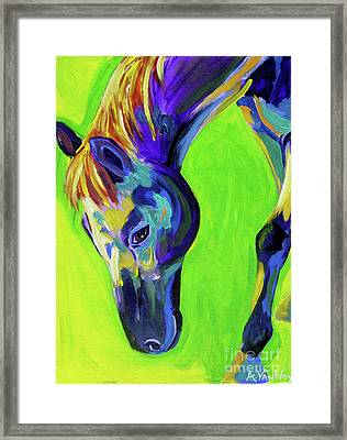 Horse Green Painting By Alicia Vannoy Call