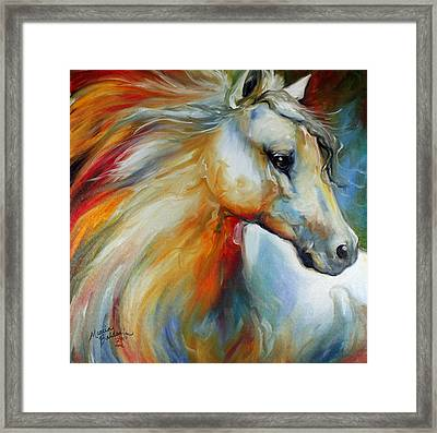 Horse Angel No 1 Framed Print by Marcia Baldwin