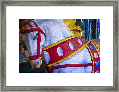 Horse Dreams  Framed Print by Garry Gay