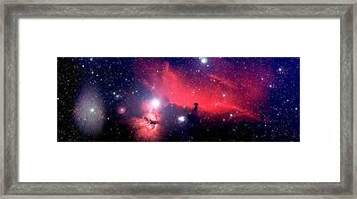Horsehead Nebula Panorama Framed Print by Jim DeLillo