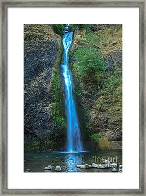 Horsetail Falls Framed Print by Robert Bales