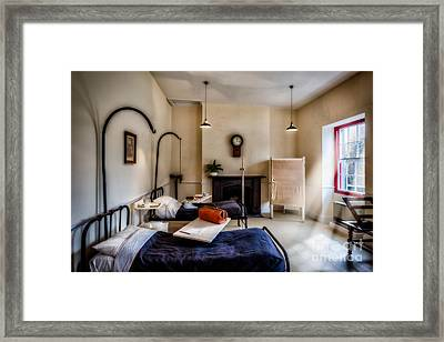 Hospital Ward Framed Print by Adrian Evans