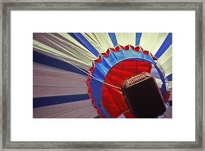 Hot Air Balloon - 1 Framed Print by Randy Muir