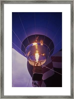 Hot Air Balloon - 2 Framed Print by Randy Muir