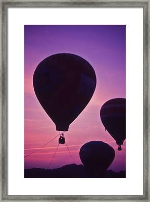 Hot Air Balloon - 8 Framed Print by Randy Muir
