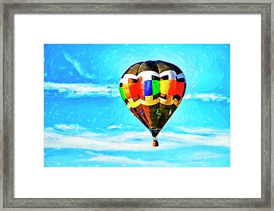 Hot Air Balloons Framed Print by Geraldine Scull