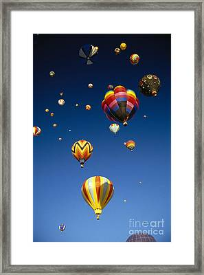 Hot Air Balloons Framed Print by Michael Howell - Printscapes