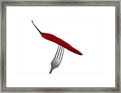 Hot Bite Framed Print by Gert Lavsen