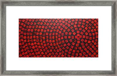 Hot Reds Framed Print by Ilonka Walter