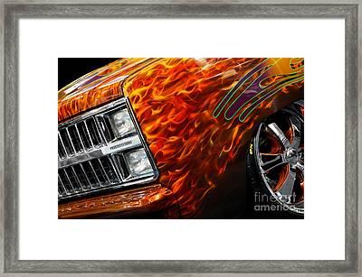 Hot Rod Chevrolet Scotsdale 1978 Framed Print by Oleksiy Maksymenko