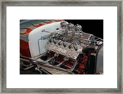 Hot Rod Lincoln Framed Print by Bill Dutting