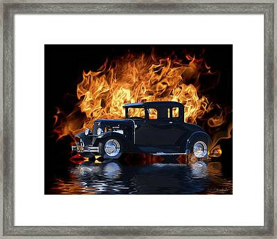 Hot Rod Framed Print by Patricia Stalter