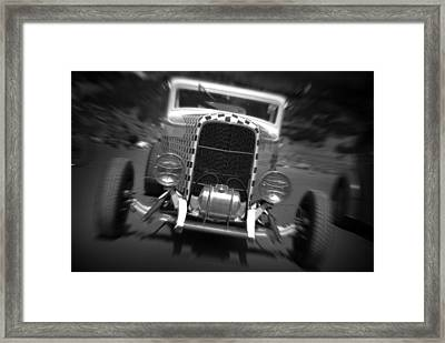 Hot Rods At Pendine 11 Framed Print by Phil Fitzsimmons