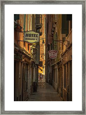 Hotel Bernardi S Framed Print by Chris Fletcher