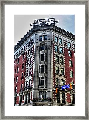 Hotel Lafayette Series 0003 Framed Print by Michael Frank Jr