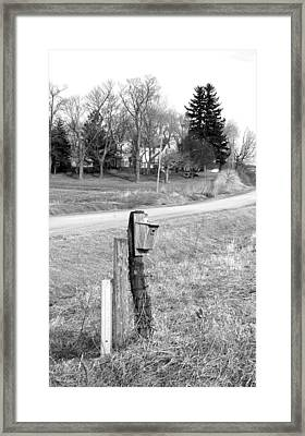 House And Home Framed Print by Jame Hayes