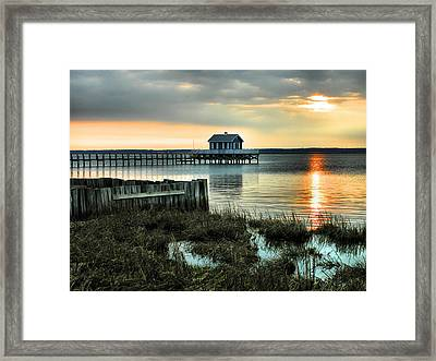 House At The End Of The Pier II Framed Print by Steven Ainsworth