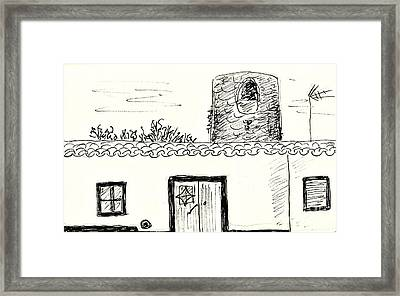 House In Redondo Framed Print by Chani Demuijlder