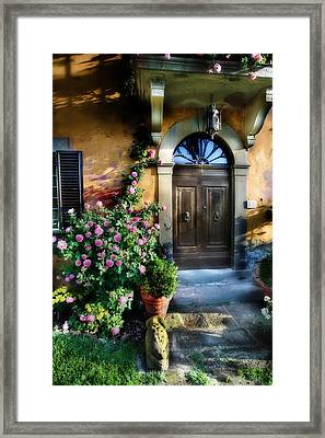 House In Tuscany Framed Print by Al Hurley