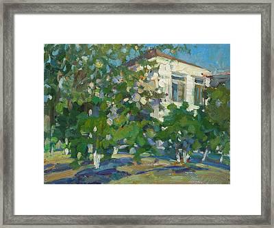 House Of Artist Framed Print by Juliya Zhukova