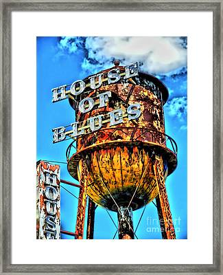 House Of Blues Orlando Framed Print by Corky Willis Atlanta Photography