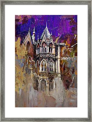 House Of Grace 54 Framed Print by Maryam Mughal
