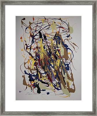 House Of Mirrors Framed Print by Edward Wolverton