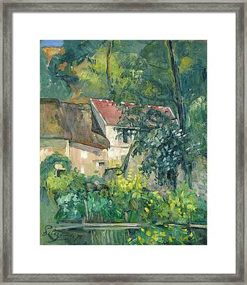 House Of Pere Lacroix Framed Print by Paul Cezanne