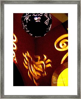 House Of Runes 2 By Darian Day Framed Print by Mexicolors Art Photography