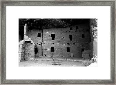 House Of Windows Framed Print by David Lee Thompson