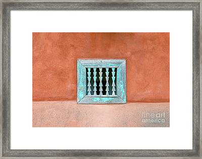 House Of Zuni Framed Print by David Lee Thompson