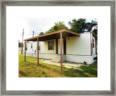 House Trailer Park Framed Print by Lanjee Chee