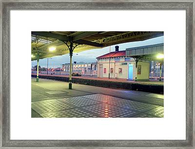 Hove Station Framed Print by Nigel Chaloner