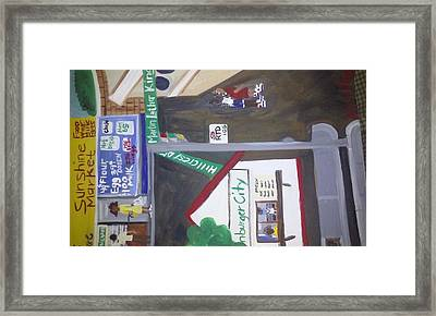 How I Love The Jungles The Bottom Of Hillcrest Framed Print by Autoya Vance-Liggins