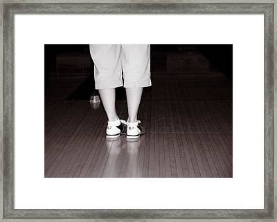 How Many Did I Get Framed Print by Edward Myers