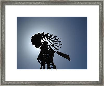 How The West Was Won Framed Print by Feva  Fotos