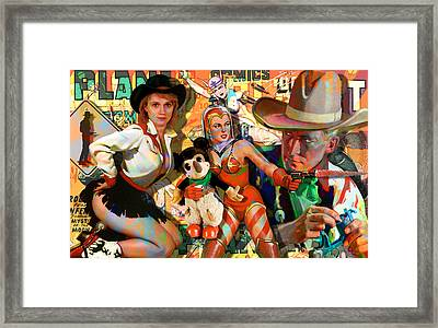 How The West Was Won Framed Print by Robert Anderson