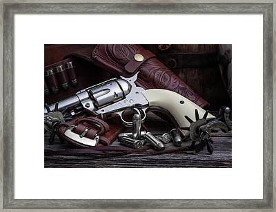 How The West Was Won Framed Print by Tom Mc Nemar