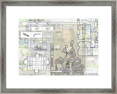 How To Make Not Art  Part 1  Framed Print by Andy  Mercer